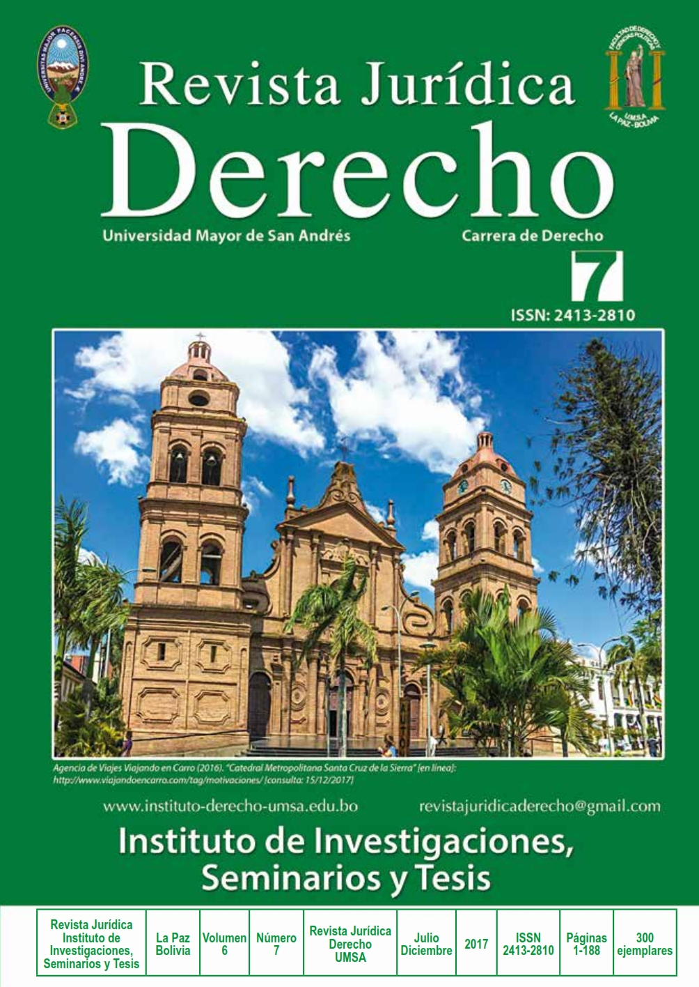 Revista Jurídica No. 7